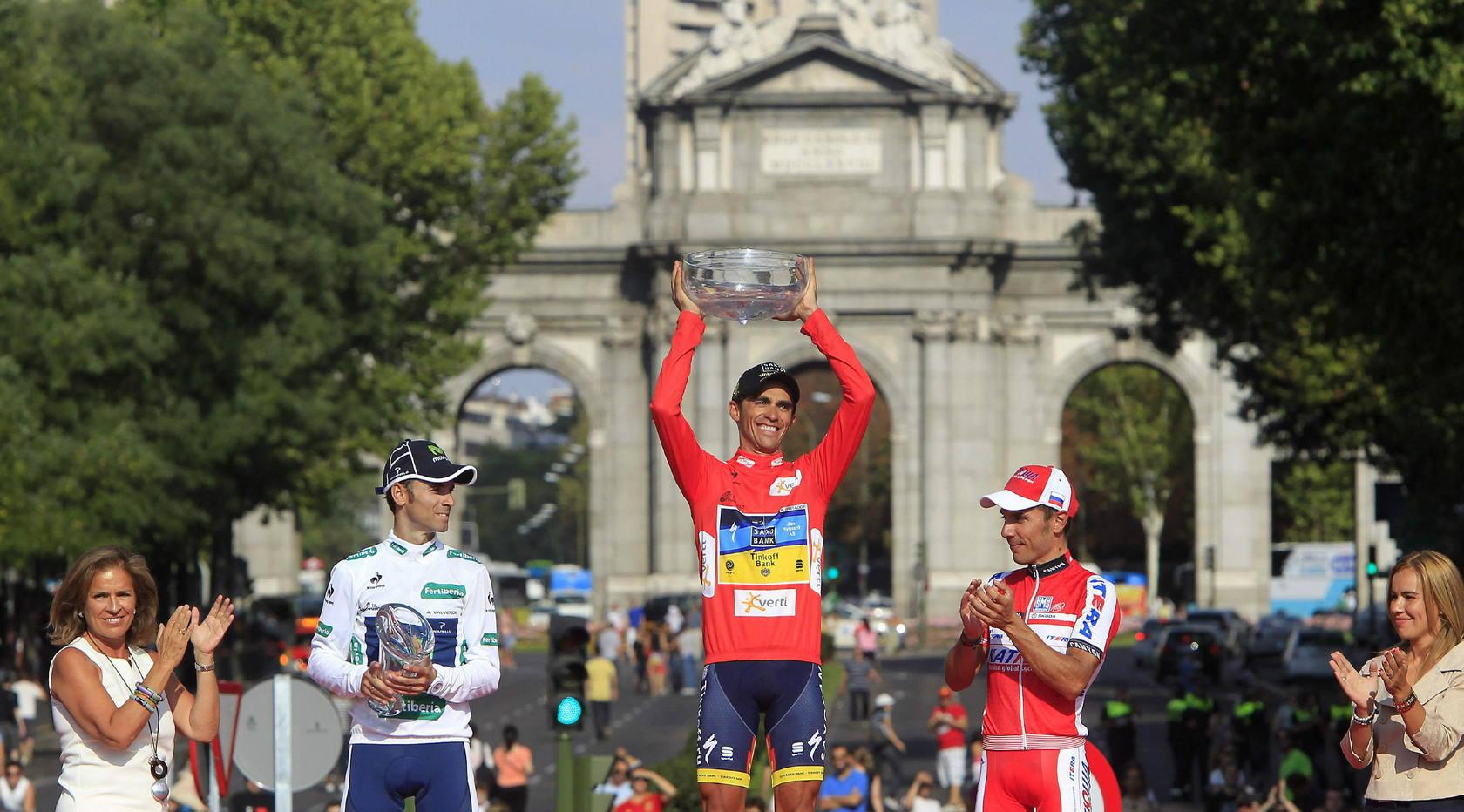 Contador conquista la Vuelta