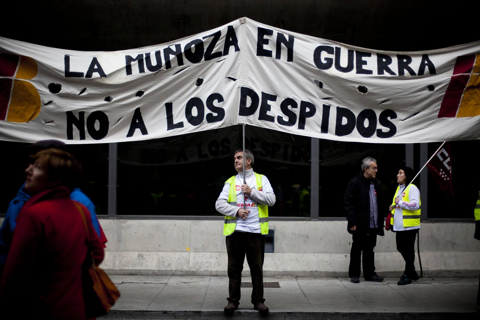 Nueva jornada de paros en Iberia