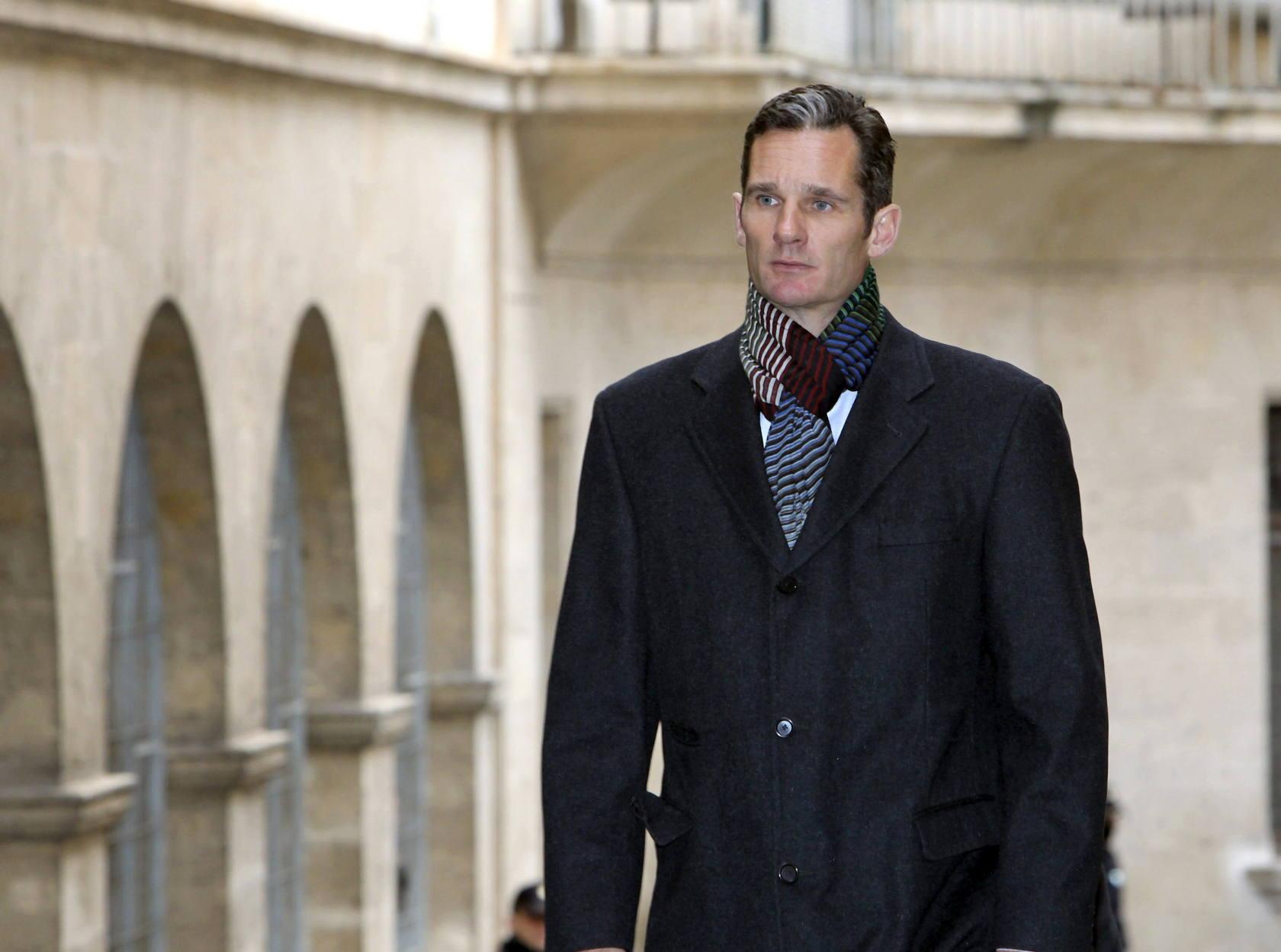 Urdangarin vuelve a declarar en los juzgados de Palma de Mallorca