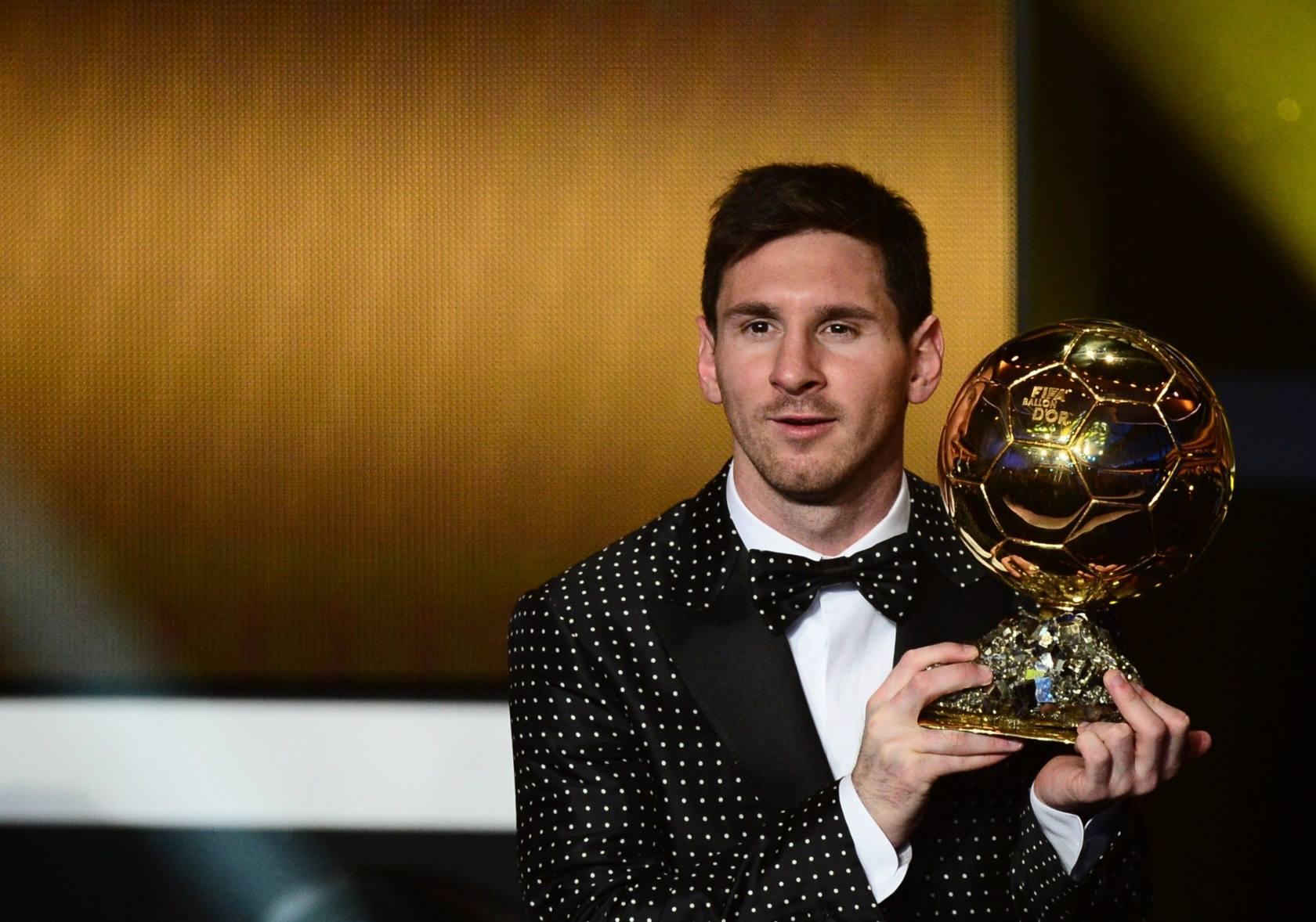 Gala del Balón de Oro 2012