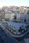 Todo dispuesto para inaugurar la plaza del Ayuntamiento de Santander