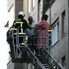 Incendio en un piso de la calle Ruiz Zorrilla de Santander